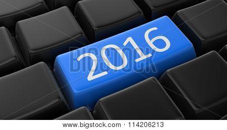 Key with 2016