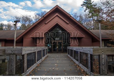 Michigan Forest Visitors Center