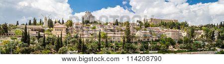 Yemin Moshe Neighborhood, Panorama