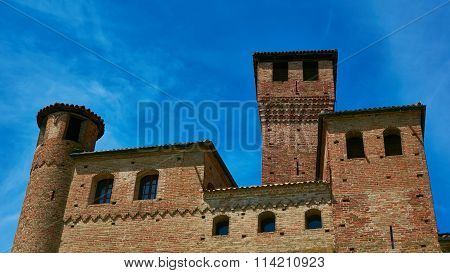 Old castle of Grinzane Cavour