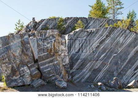 Ancient Marble quarry.