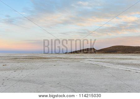 Sunset In Salar De Uyuni, Bolivia