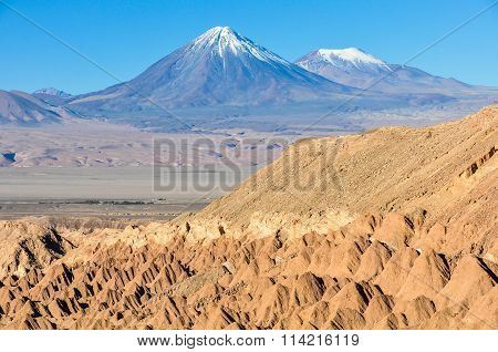 Death Valley In The Atacama Desert, Chile