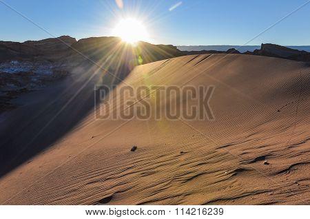 Sunset In The Atacama Desert, Chile