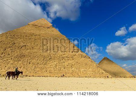 Pyramids in Giza, Cairo - Egypt