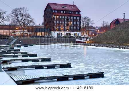 Old Mill hotel. Klaipeda, Lithuania