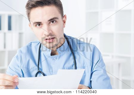 Physician And Bad News