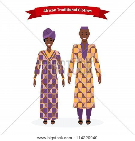 African Traditional Clothes People