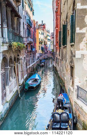 Venice. Urban Canal