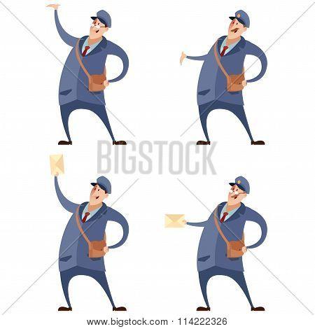 Set of postmans