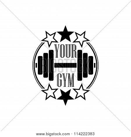 Gym symbol black