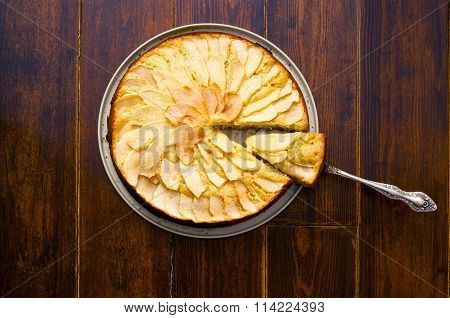 Apple Pie With Spatula