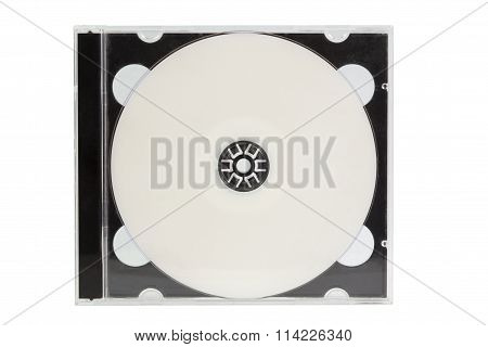 Cd Case With Blank Dvd Disc