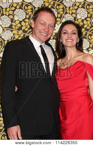 LOS ANGELES - JAN 10:  Alec Berg, Michele Maika at the HBO Golden Globes After Party 2016 at the Beverly Hilton on January 10, 2016 in Beverly Hills, CA