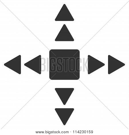 Direction Triangles Icon