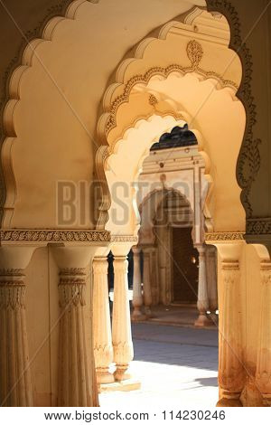 Paigah tombs architecture in Hyderabad, India built in year 1787