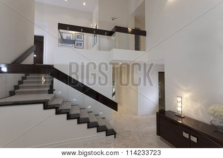 Staircase In A Modern House