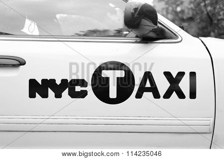 NEW YORK CITY - SEPTEMBER 28: Many tourists use taxis as their primary or only form of transportation when visiting New York City on SEPTEMBER 28, 2011 in New York City, New York