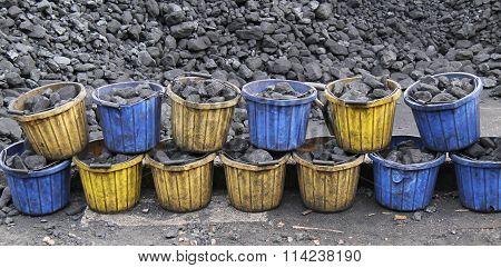 Coal Buckets.