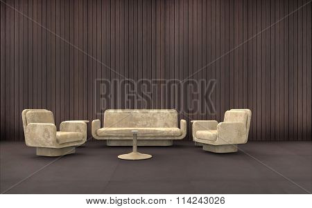 Reception room Minimal and Composition