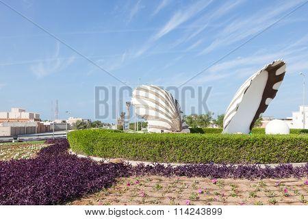 Pearl Roundabout In Al Ruwais, Qatar