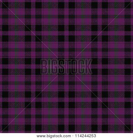 Checkered purple black pattern like a textile