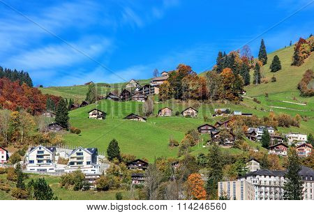 View in Engelberg, Switzerland