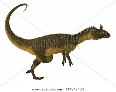 Cryolophosaurus Dinosaur Side View