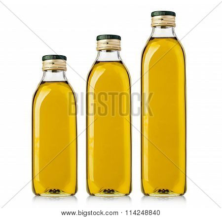 Set Of Olive  Bottles