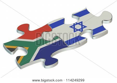 Israel And South Africa Puzzles From Flags