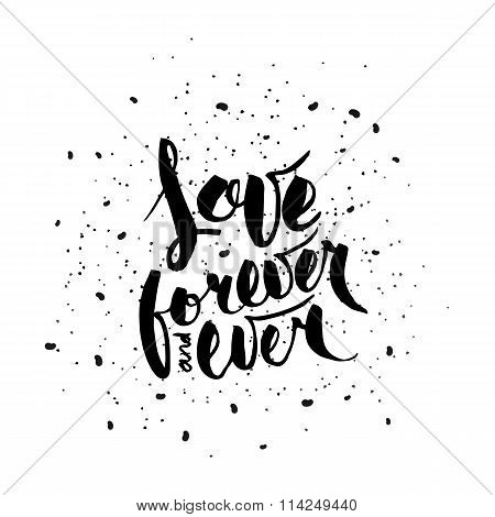 Love forever and ever.