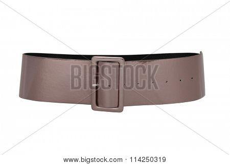 fashion belt isolated on white