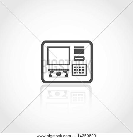 Automated teller machine icon