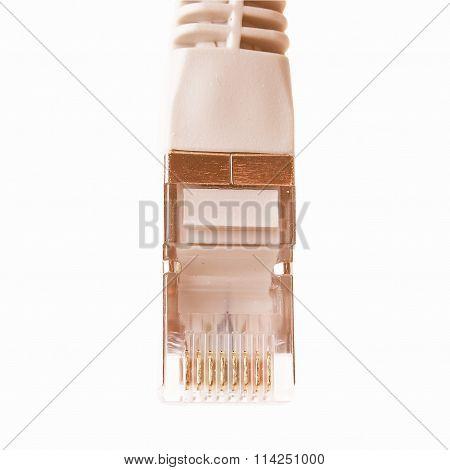 Rj45 Plug Vintage