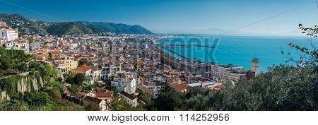 Salerno coast. Italy
