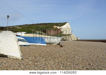 Seafront At Seaford, East Sussex, England