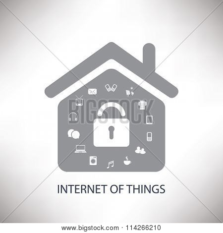 Internet of Things or Networks Concept Design| Business Vector Illustration