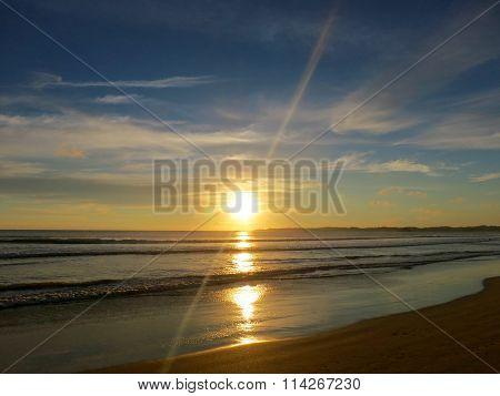 Weligama bay sunset, Sri Lanka