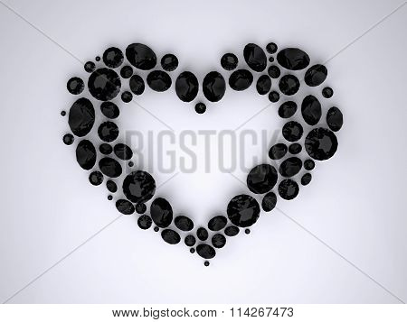 Heart of Black Diamonds