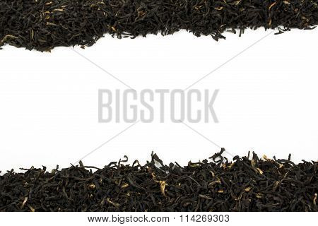 Loose Leaf Black Tea With Copy Space