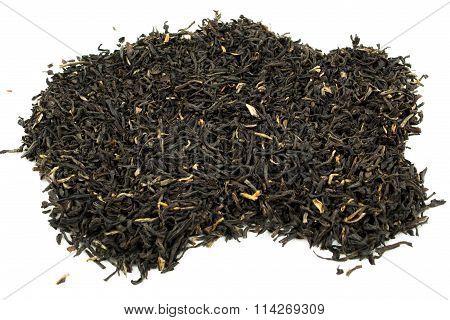 Pile Of Loose Leaf Black Tea