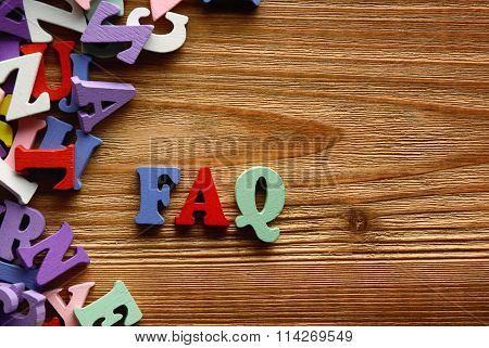 Faq    Letters   On   Wood