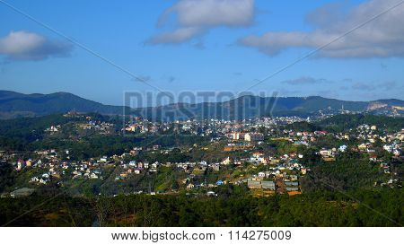 Panorama, Dalat Countryside, Vietnam, Hill, Mountain