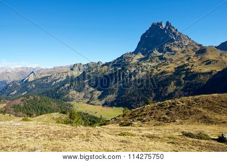 Midi Dossau, Ossau Valley, Pyrenees National Park, Pyrenees, France.