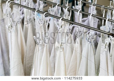 Clothes Line After Washing.