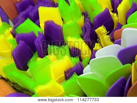 Colorful Kitchenware Soft Silicone For Food