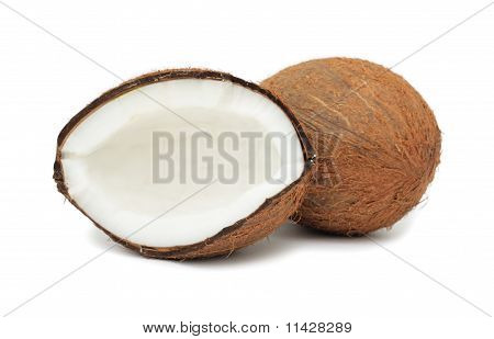 Coconut, Isolated