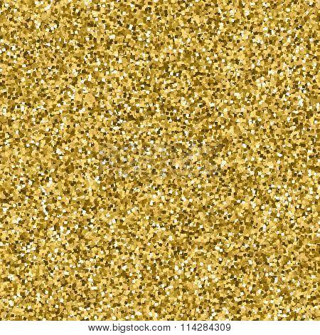 Gold Glitter Texture Seamless