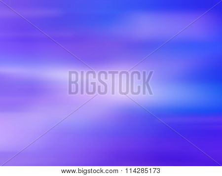 Blue Sea And Summer Sky - Blurred Image For Background