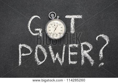 Got Power Watch